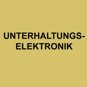 Referenzen Unterhaltungselektronik